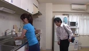 blowjob japansk par kone rett