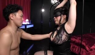 Amazing Japanese floozy Chitose Saegusa in Best cunnilingus, big tits JAV episode