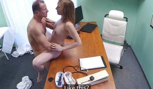 FakeHospital Doctor creampies hot constricted pussy