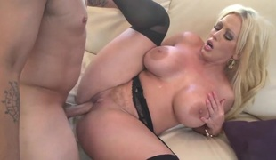 Alura Jenson with big melons and hard cocked guy Anthony Rosano