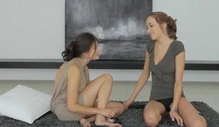 tenåring lesbisk leketøy