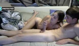amatør tenåring brunette hardcore blowjob hjemmelaget