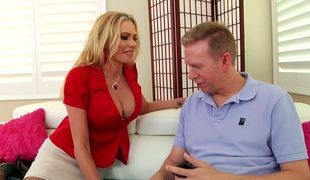 Elegant Briana Banks screwed bad in her a-hole hole