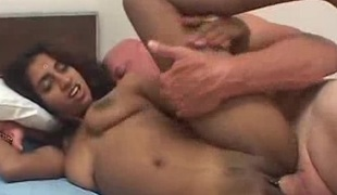 Wicked indian babe hard fucked by the doctor