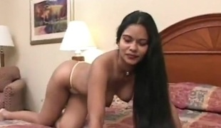 hot indian babe with long hair
