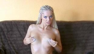 amatør blonde onani leketøy små pupper tysk hd rett