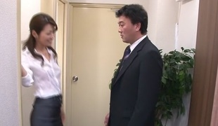 Outstanding Japanese chick Maki Hojo in Hottest JAV uncensored Facial video