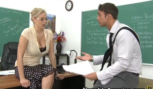 Julia Ann & Rocco Reed in My First Sex Teacher