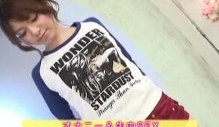 Jun Mise Uncensored Hardcore Video with Masturbation, Creampie scenes