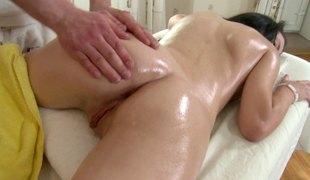 hardcore massasje par nærhet olje fin rumpe