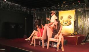 Lap dances for the dilettante club gals from hawt male strippers