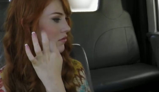 Redhead Princess Sucking Big Dong Fake Car Tow