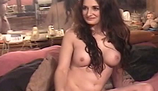 Large breasted hottie Shany Sands loves to receive screwed doggy style