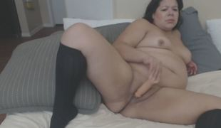 Fat Aged Pounds Slit With Toys
