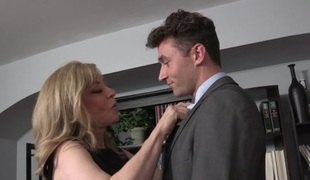 Nina Hartley & James Deen in My Evil Stepson #02 Clip