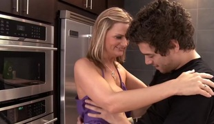 Becca Blossoms & Xander Corvus in My Allies Hot Mom