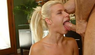 oral deepthroat blowjob hals sucking fellation