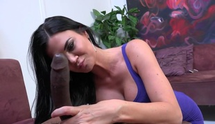Sexy HotWife Jasmine Jae Acquires Fucked By BBC Whilst Cuckold Watching