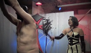 THE WHIPPING GAME CONTINUES Starring Female-dominant An Li