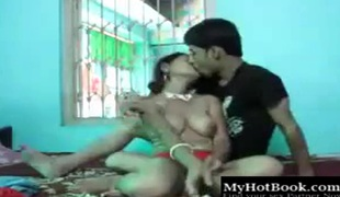 Young Indian girl hard screwed by her BF