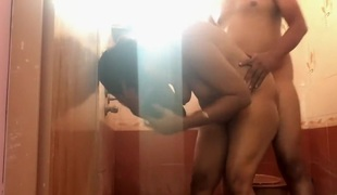 Indian Couple Bathroom Fuck