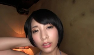 Best Japanese chick Miku Abeno in Concupiscent swallow, cougar JAV movie
