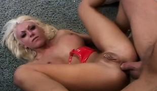 anal blonde hardcore milf blowjob creampie