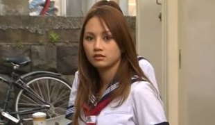 langt hår hardcore høyskole asiatisk japansk uniform gruppesex