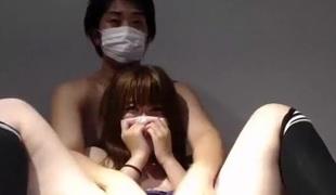 amatør asiatisk par rett