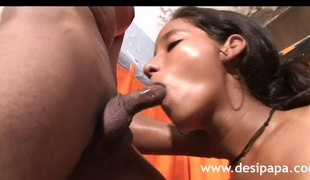 HD Indian Porn Video Hot Call Girl Engulfing Fucking Large Cock