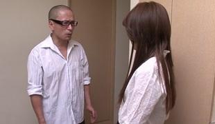 Lustful Japanese slut Rosa Kawashima in Best JAV uncensored Creampie scene
