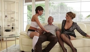Anabelle & Ani Blackfox in Mom And Dad Are Fucking My Friends #19 - DogHouseDigital