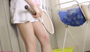 Mad Japanese model Airi Suzumura in Hottest face sitting, changing room JAV episode