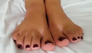 Brutal lesbo foot gagging 1