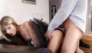 Babe Doris Ivy fucked from behind