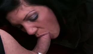 amatør tenåring naturlige pupper puppene brunette hardcore deepthroat store pupper blowjob sædsprut