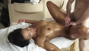 Girl gets a sex massage