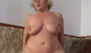 Raunchy time worn granny fucking like obscene in old and youthful porn clip