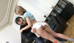 tenåring anal vakker kyssing blowjob sædsprut facial truser ridning ass
