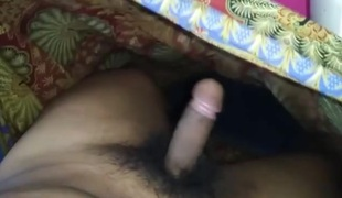 Cum on mother in law  s lungi once more
